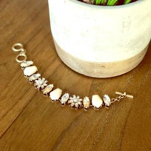 Chloe + Isabel Gardenia Toggle Bracelet
